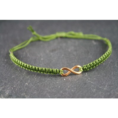 Armband Olive- Infinity Roségold