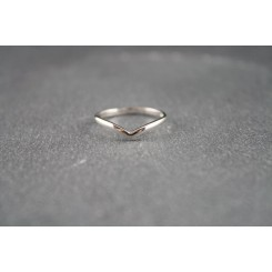 Ring - Sterling Silber Welle